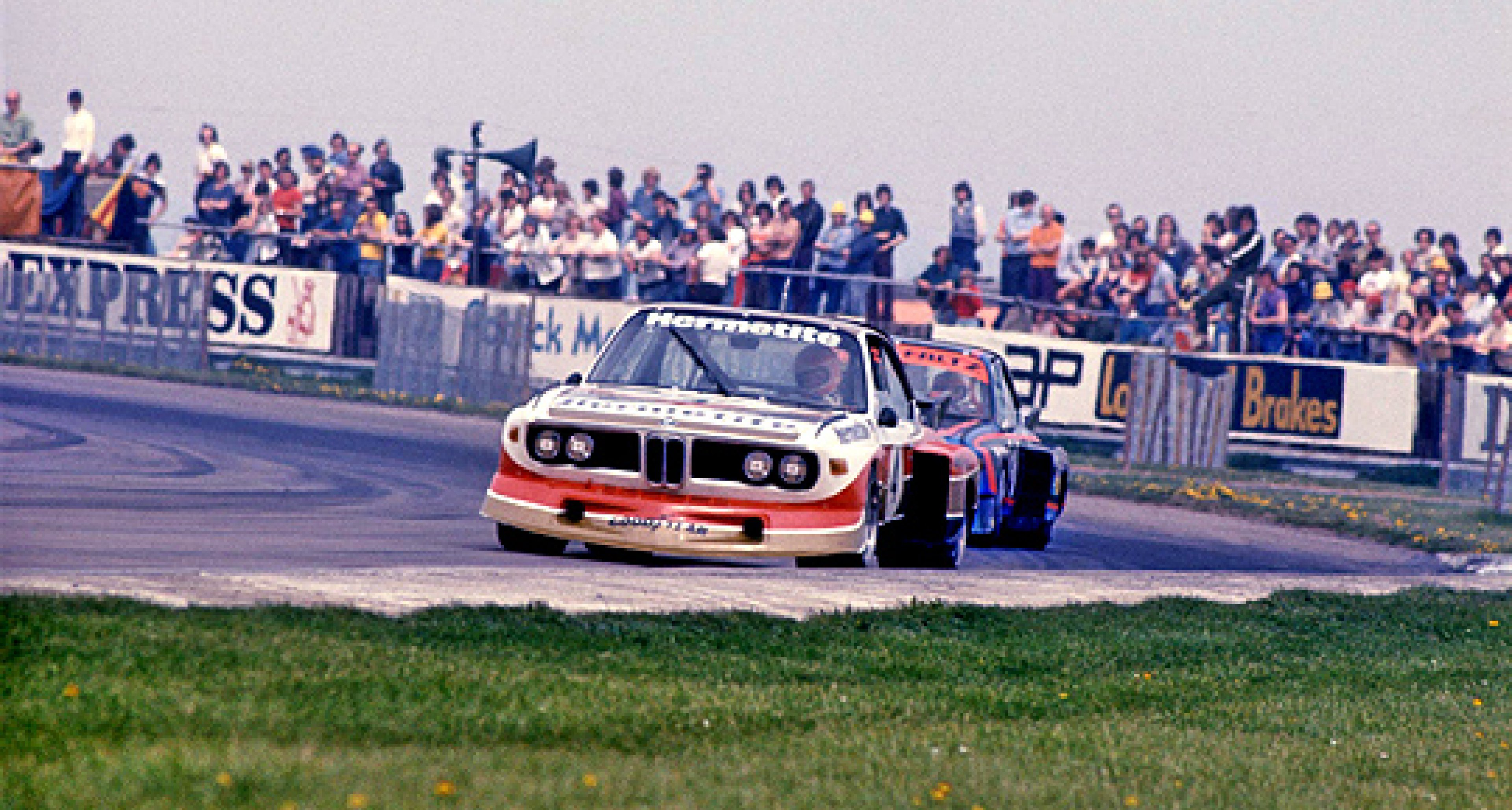 John Fitzpatrick to make racing return to Brands Hatch in a BMW 3.5 CSL