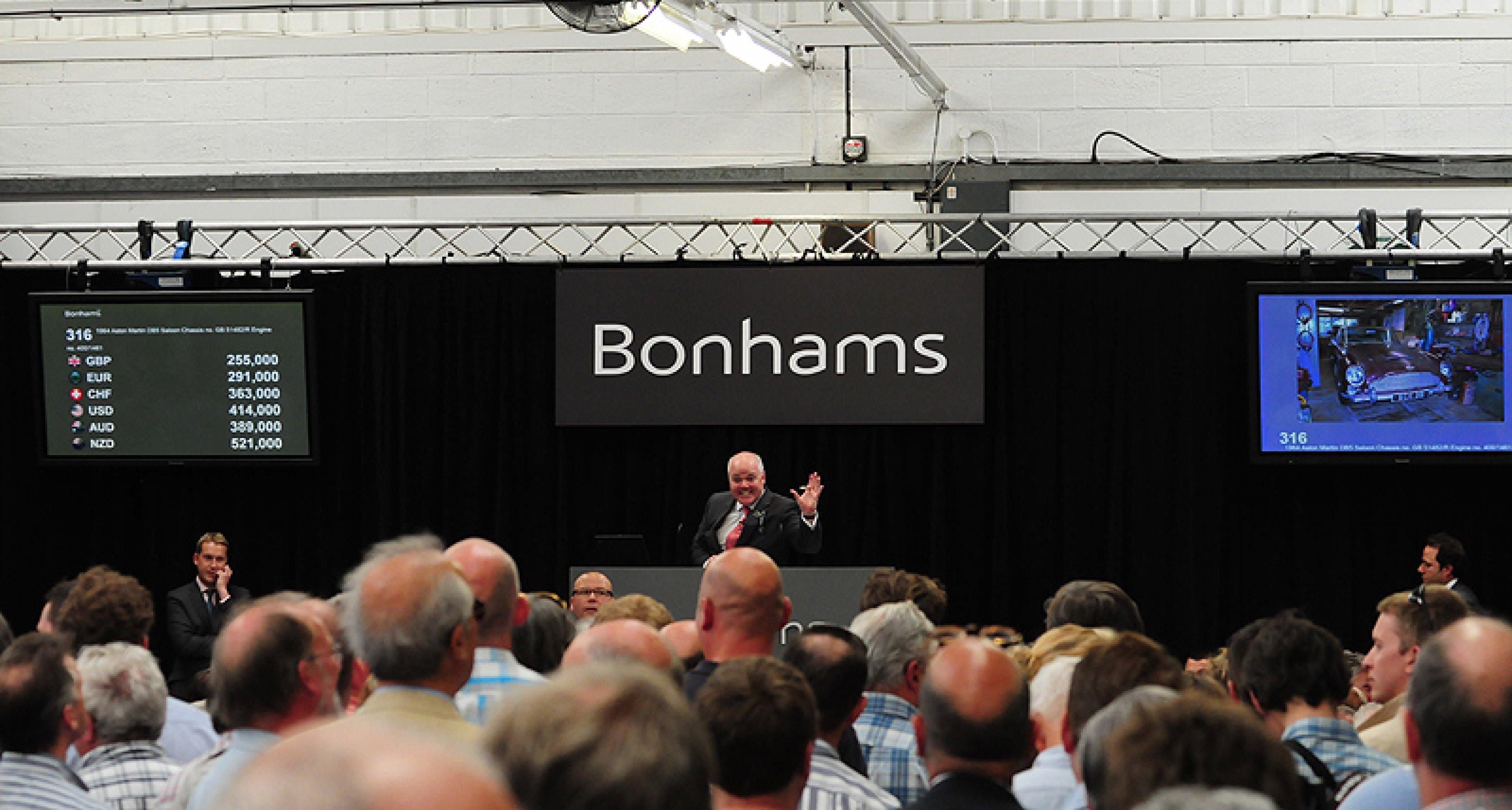 Bonhams Aston Martin Sale at Newport Pagnell  21 May 2011: Review