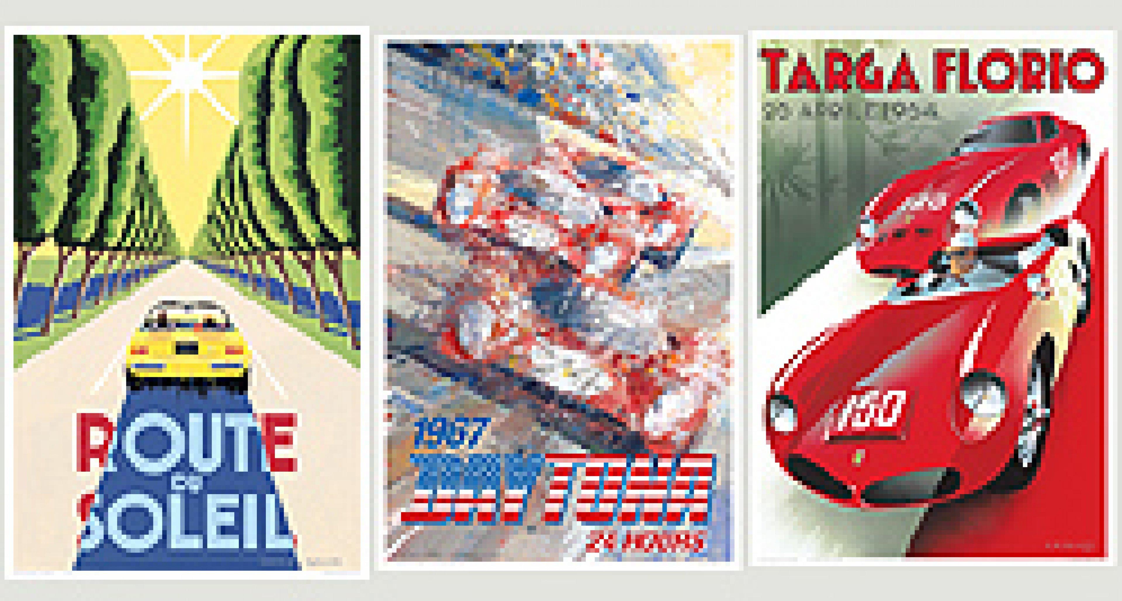 'HISTORIC FERRARI: Legends of Road and Track 1949 – 1974'