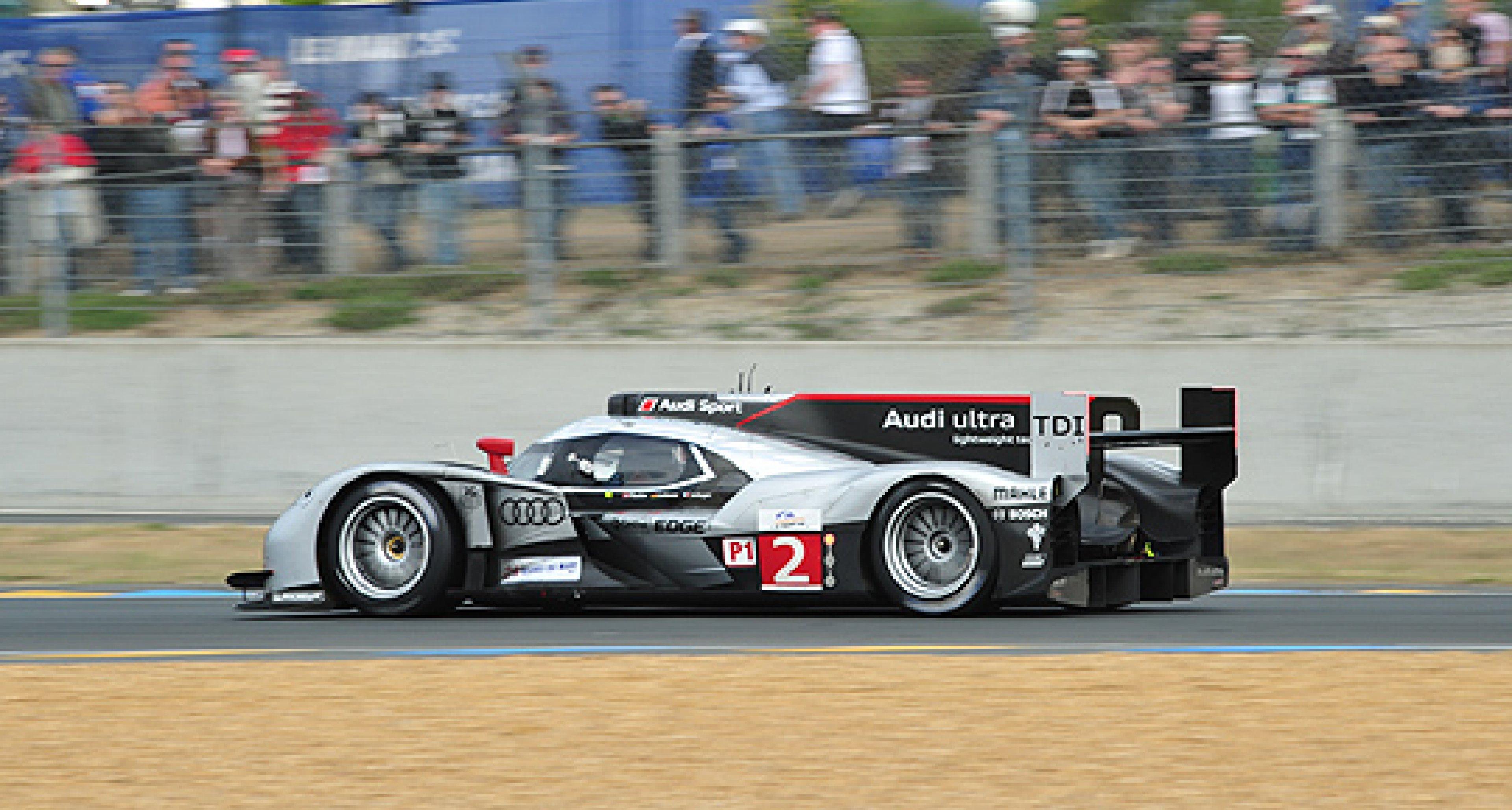 Le Mans: Audi gewinnt beim 24-Stunden-Krimi