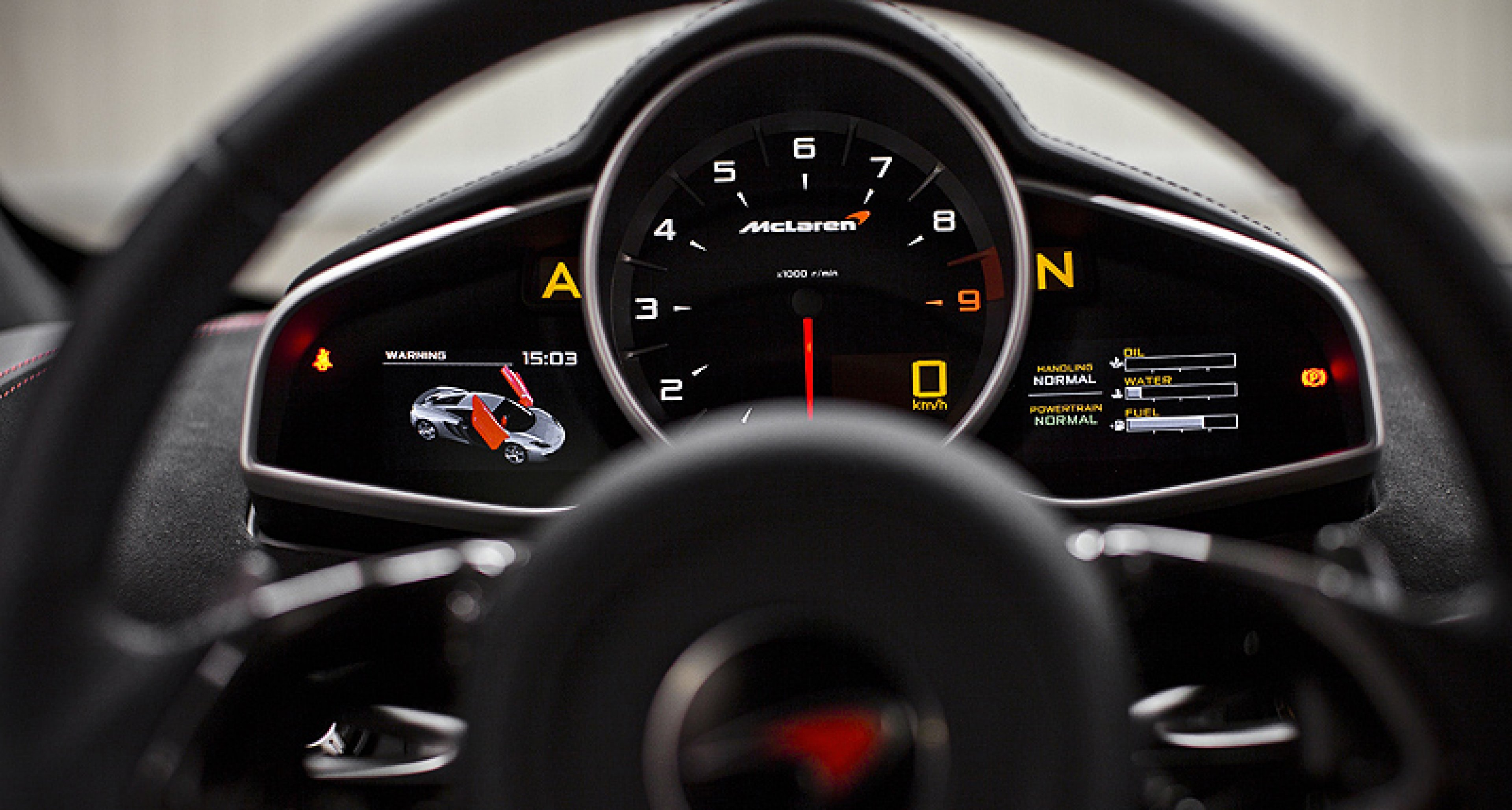 McLaren MP4-12C: Höchste Erwartungen