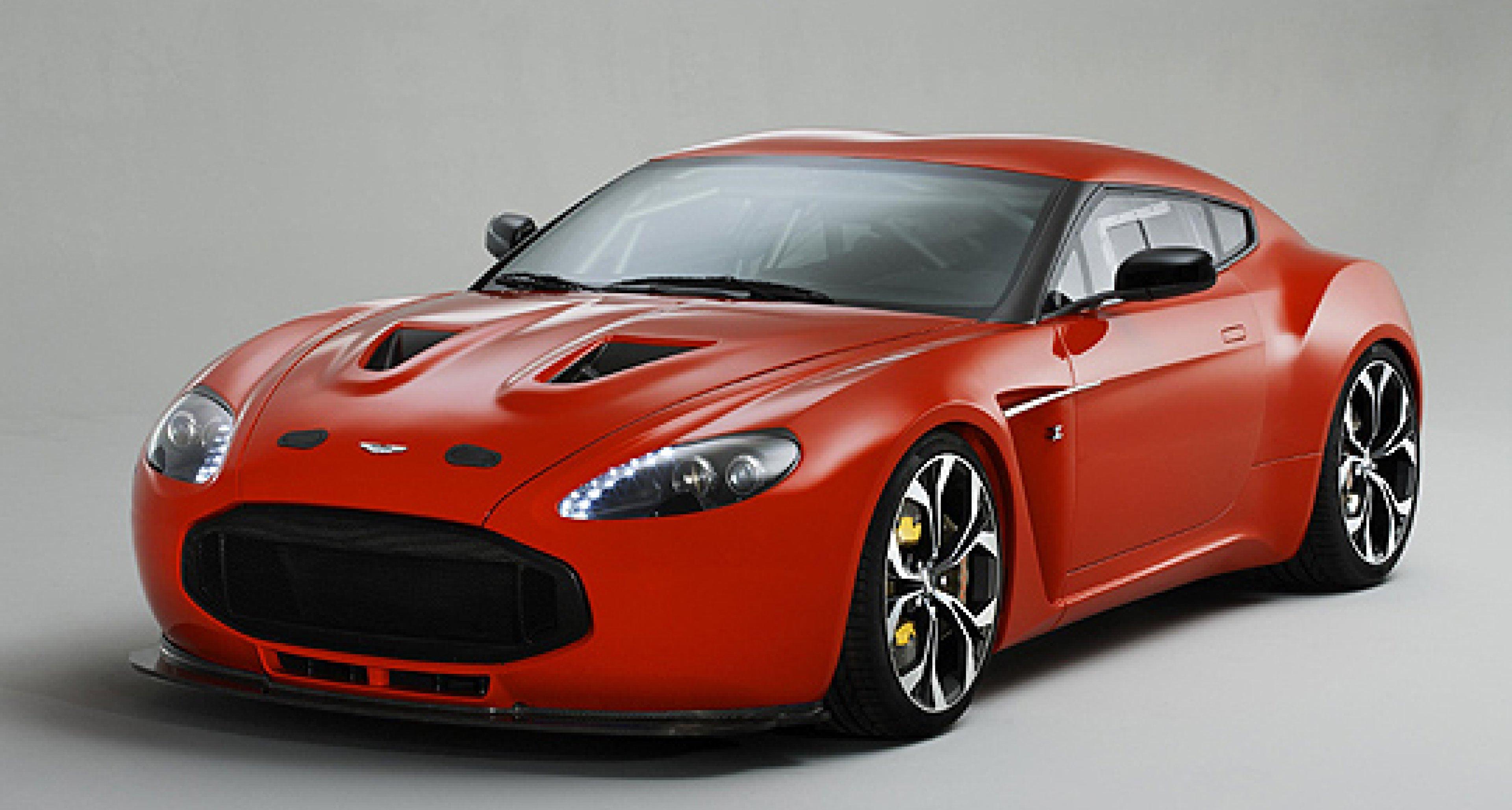 Aston Martin V12 Zagato wird gebaut