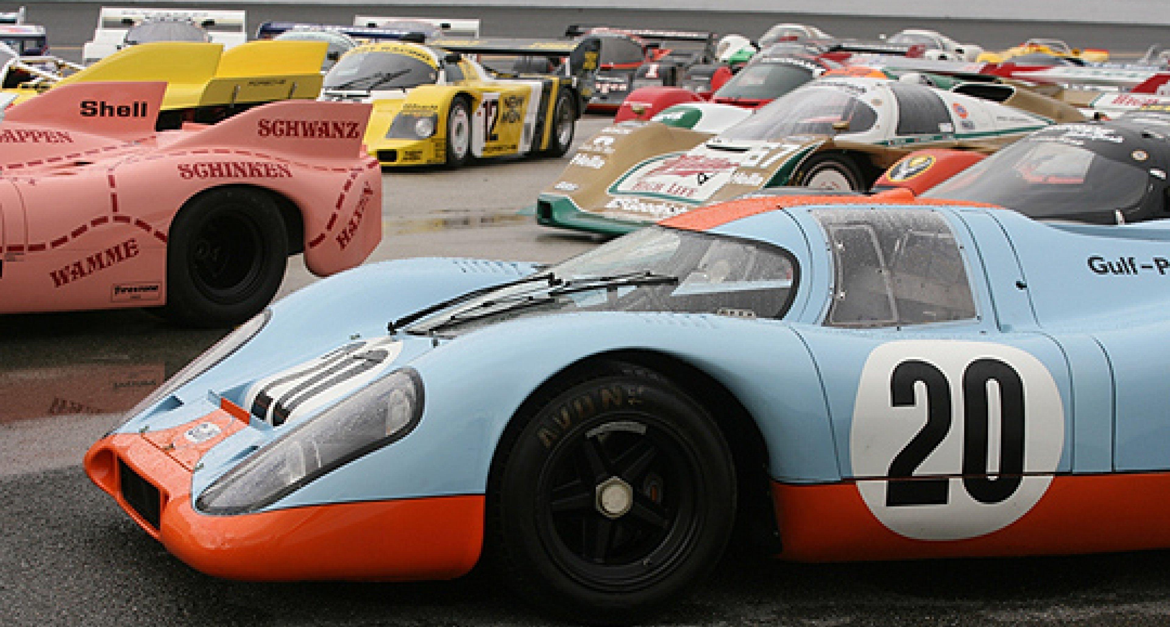 The Porsche Rennsport Reunion IV and 2011 Porsche Race Car Classic