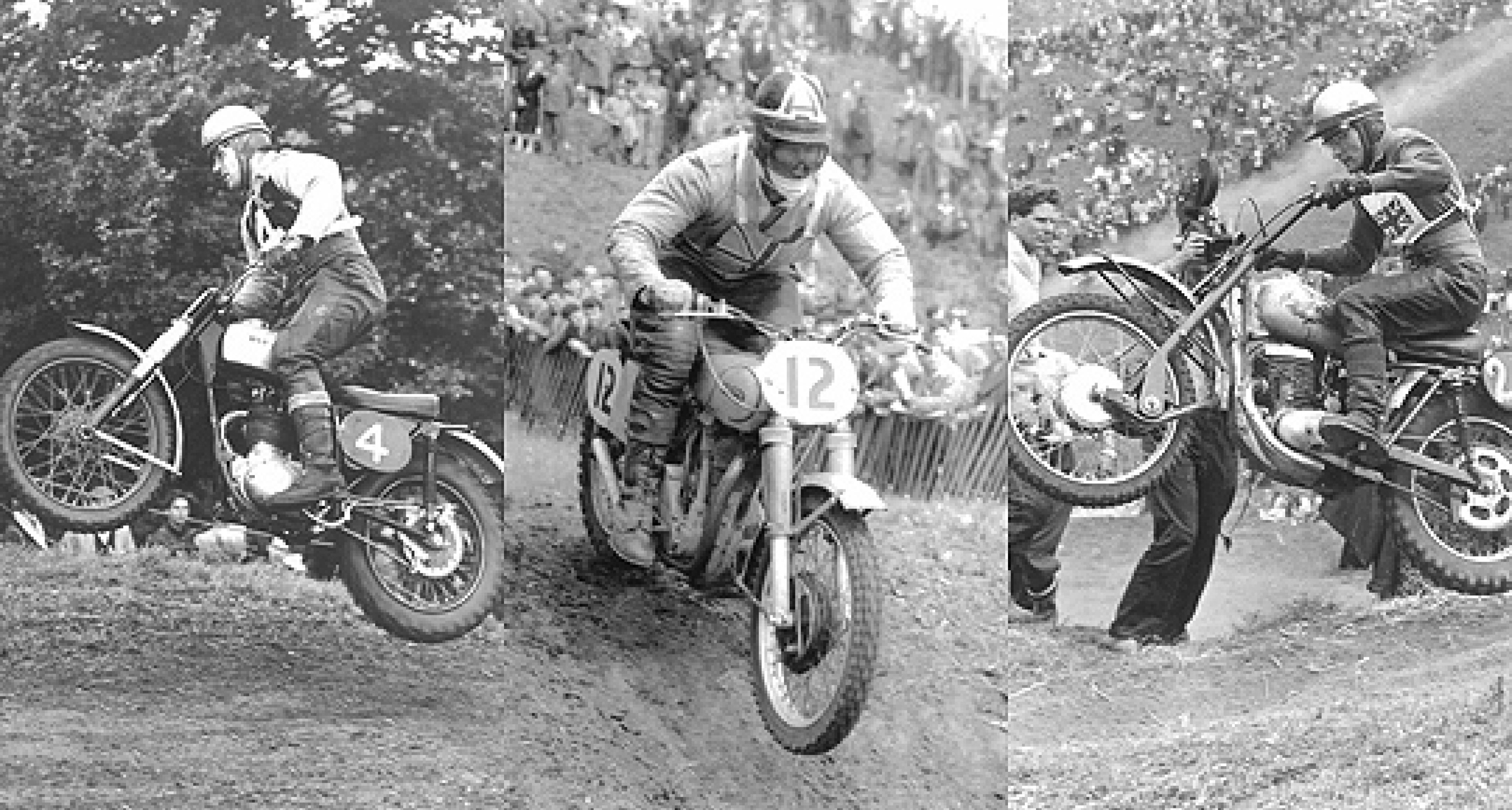 Goodwood Revival 2011: Classic motorcycle scramblers another highlight