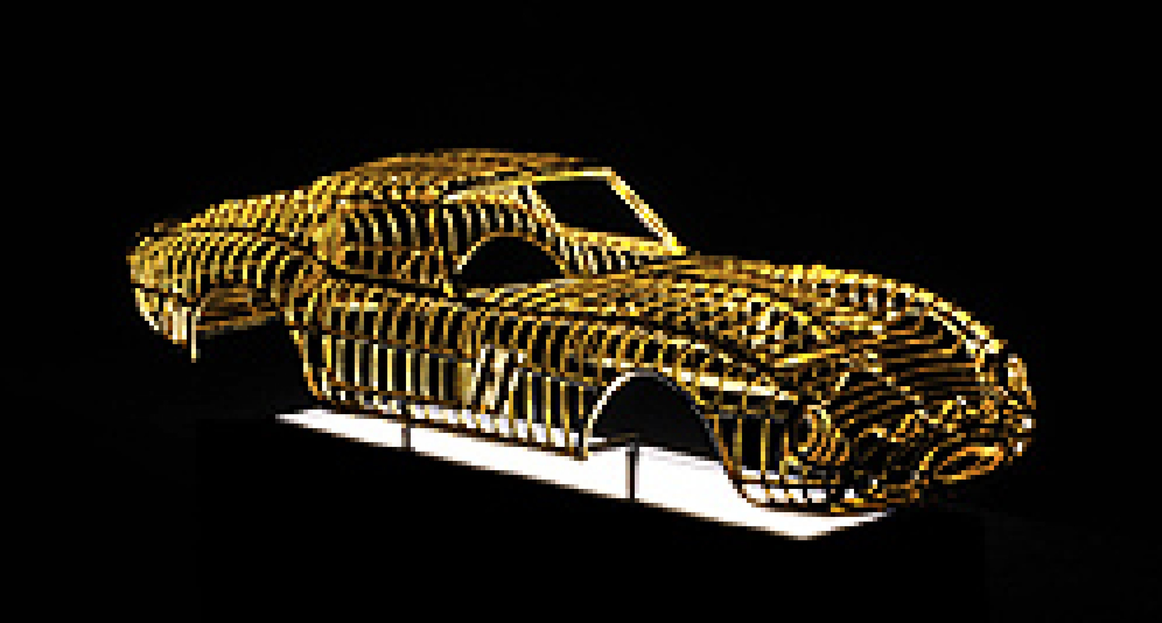 24-Carat Gold Ferrari 250 GTO: to be displayed at Pebble Beach 2011