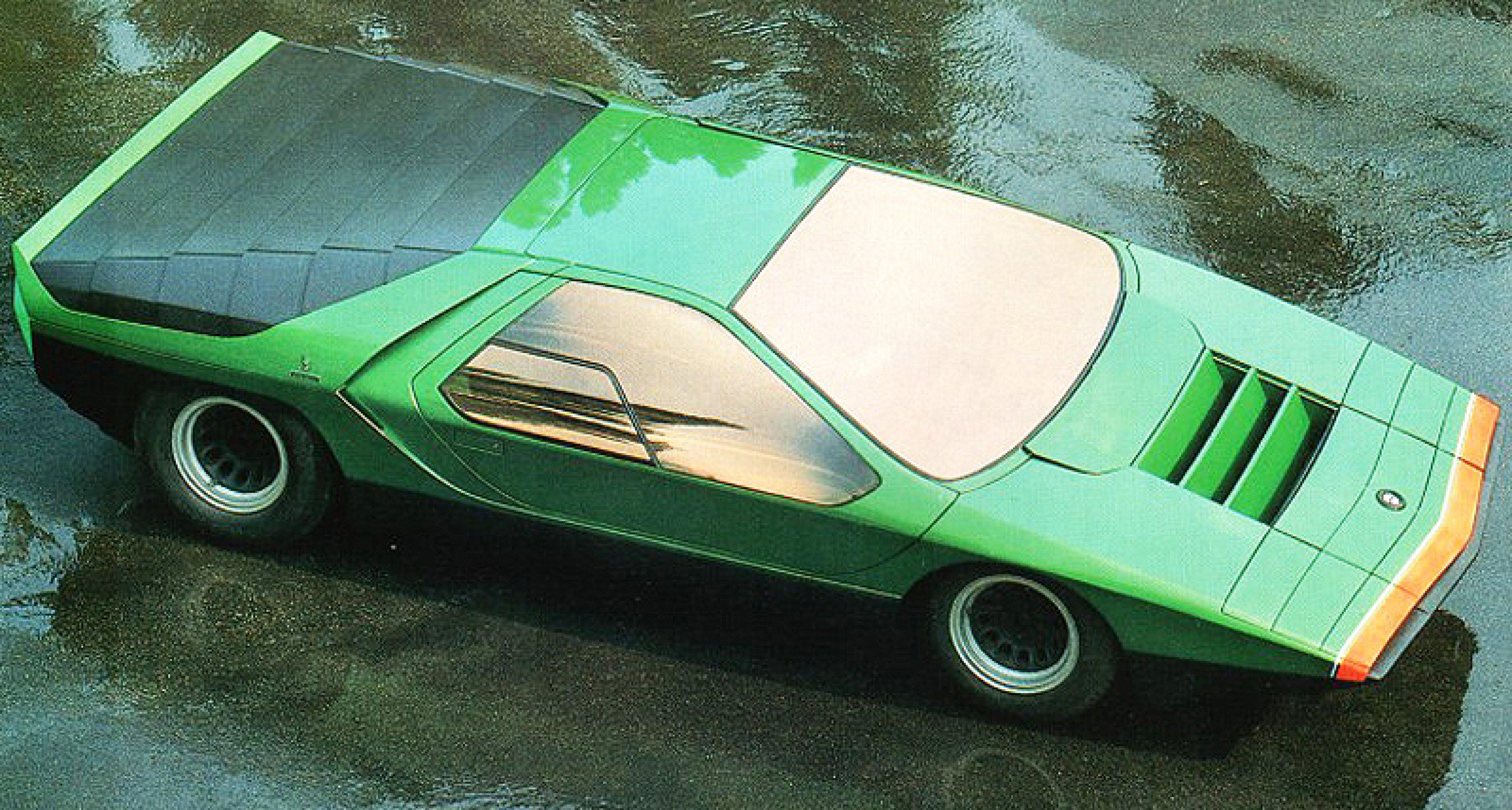 Classic Concepts 1968 Alfa Romeo Carabo Classic Driver Magazine