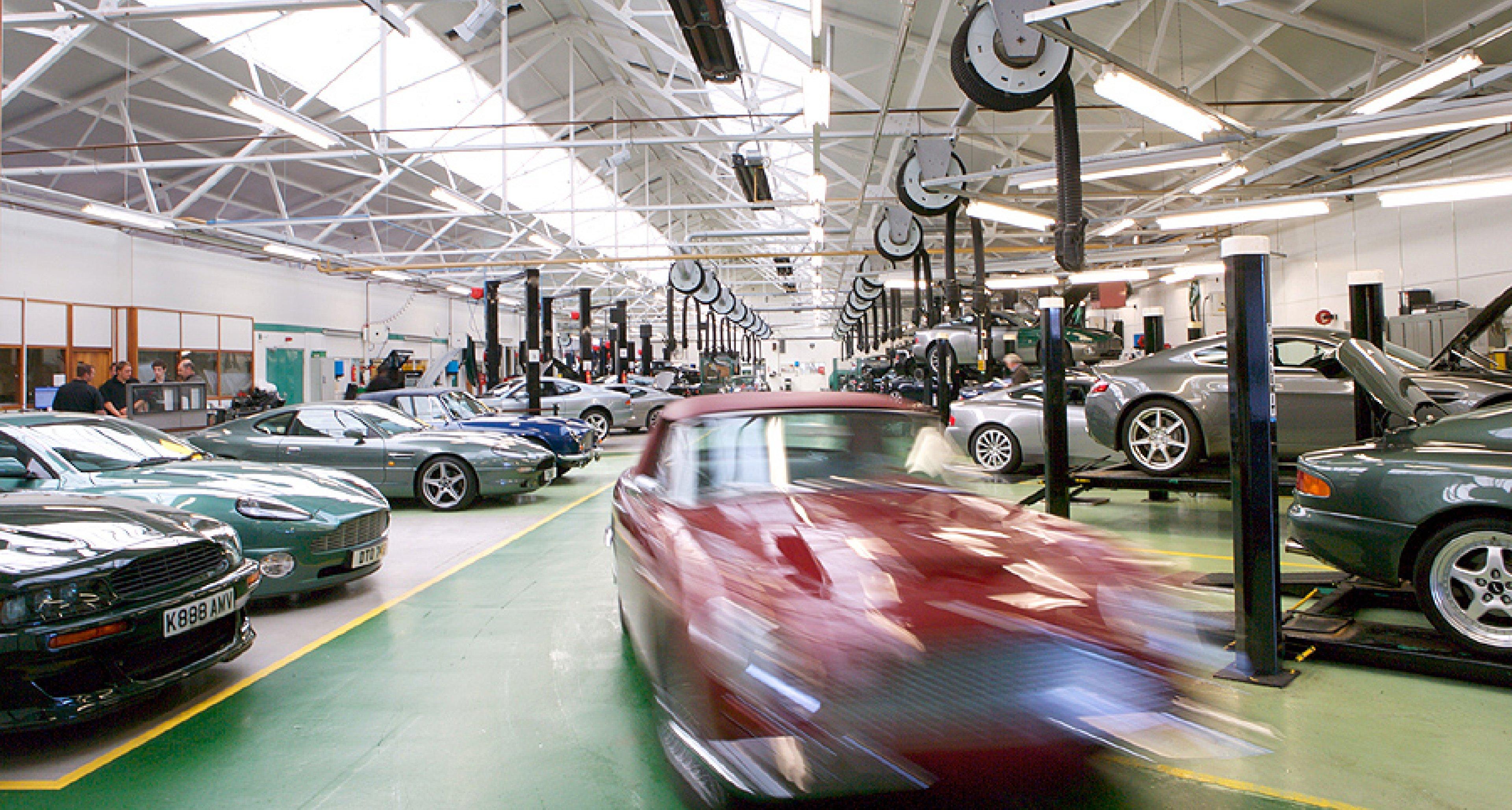 Focus On Heritage Aston Martin Works Classic Driver Magazine