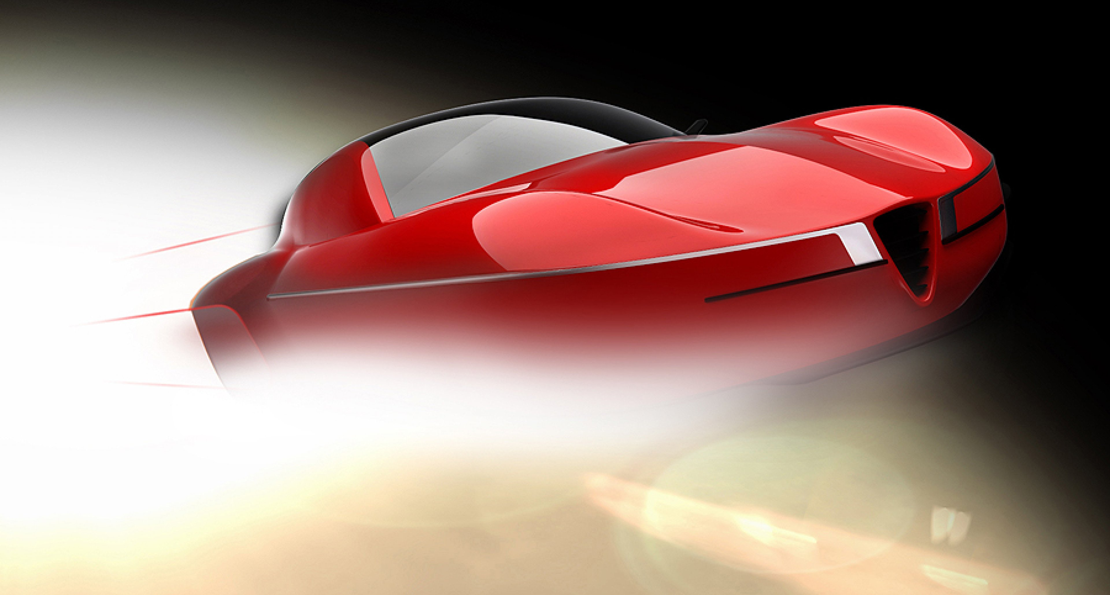 Genfer Salon 2012: Alfa Romeo Disco Volante 2012 by Touring