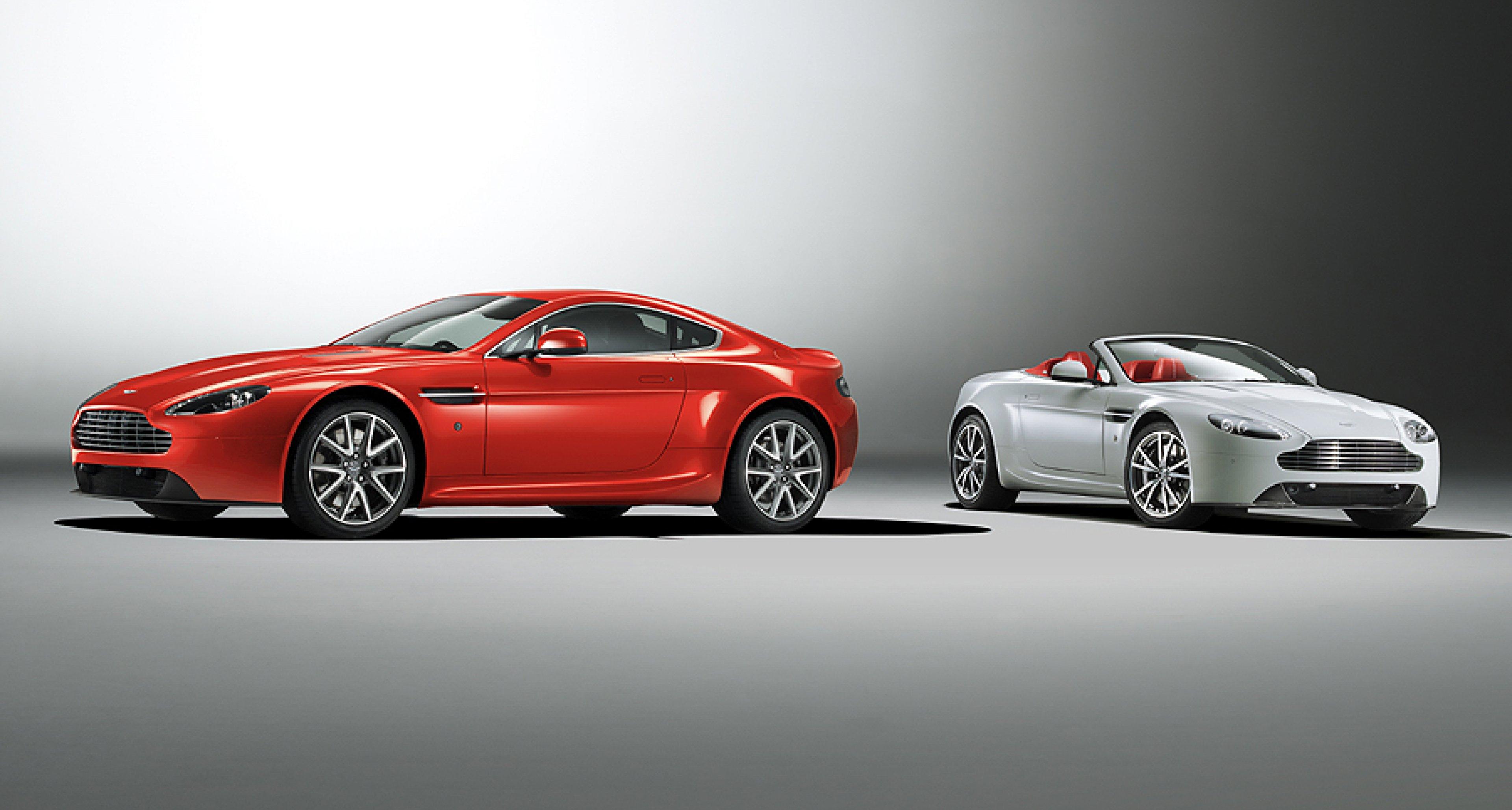 Aston Martin Vantage 2012: Modellpflege