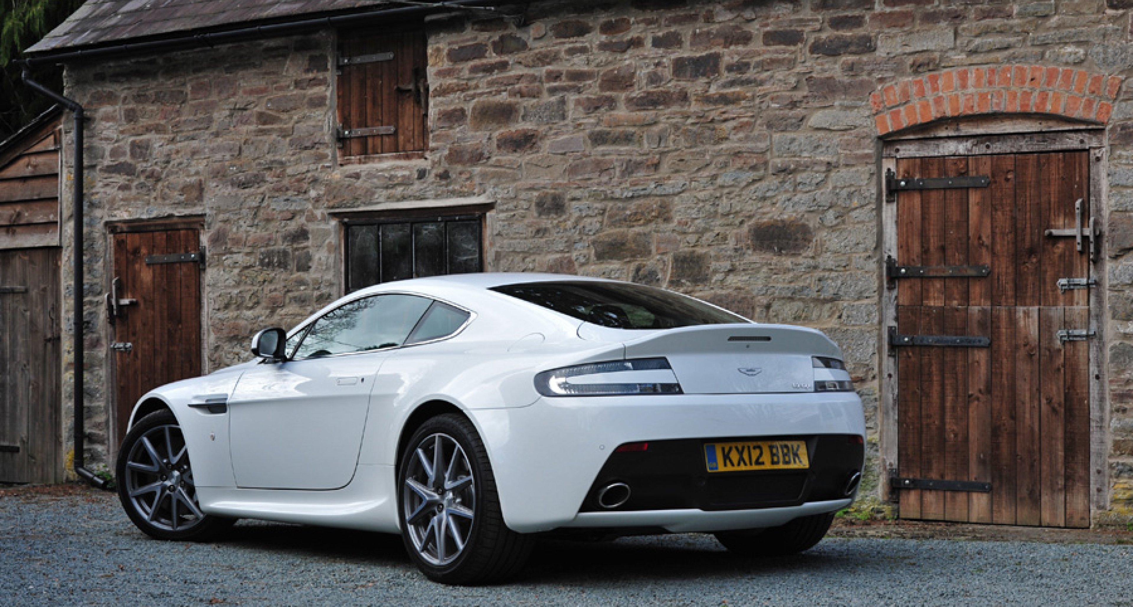 Driven 2012 Aston Martin V8 Vantage Classic Driver Magazine