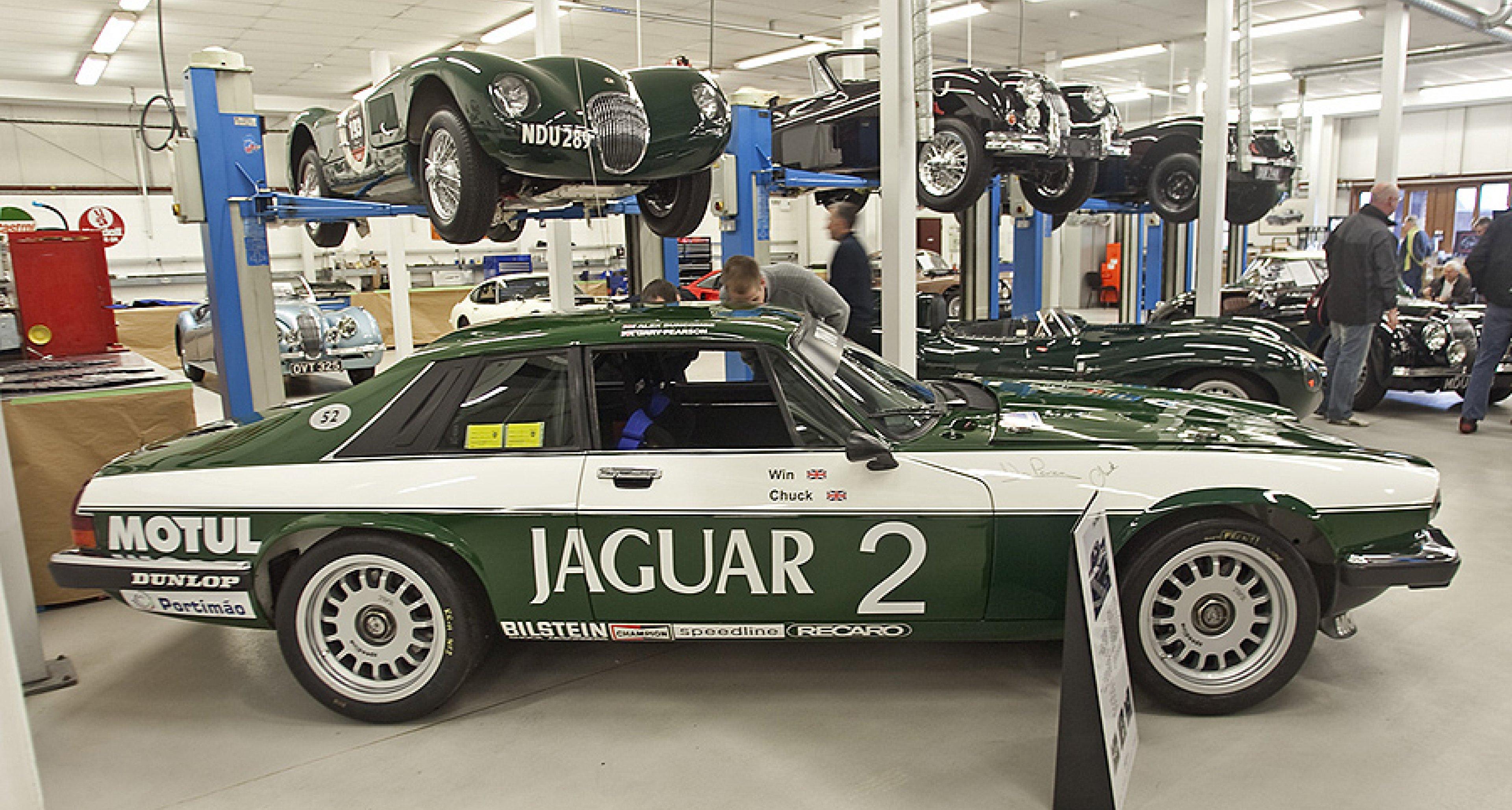 Appetitanregend: Jaguar-Frühstücksclub bei JD Classics