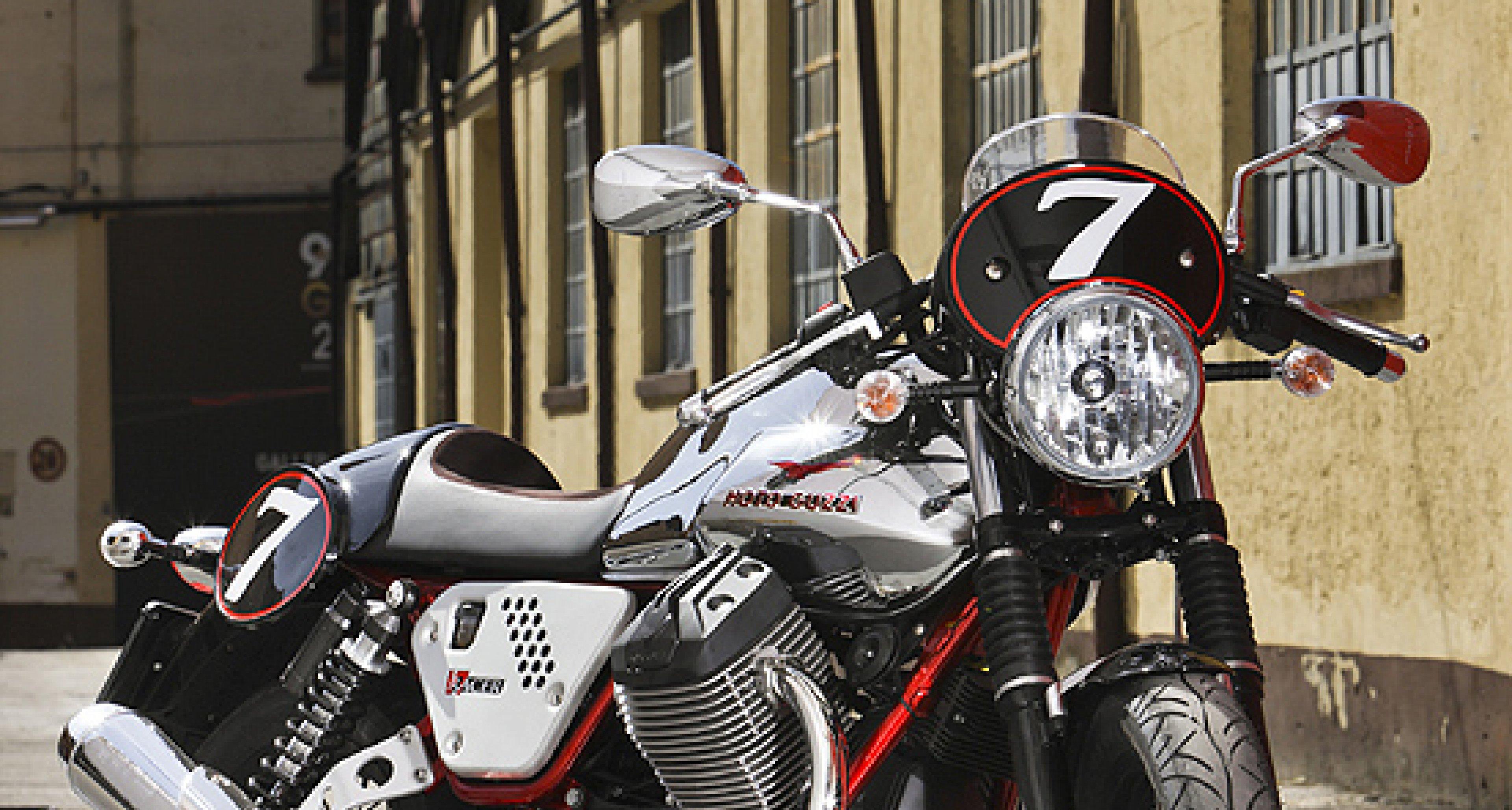 Moto Guzzi V7 Factory Kit: Look-a-Like