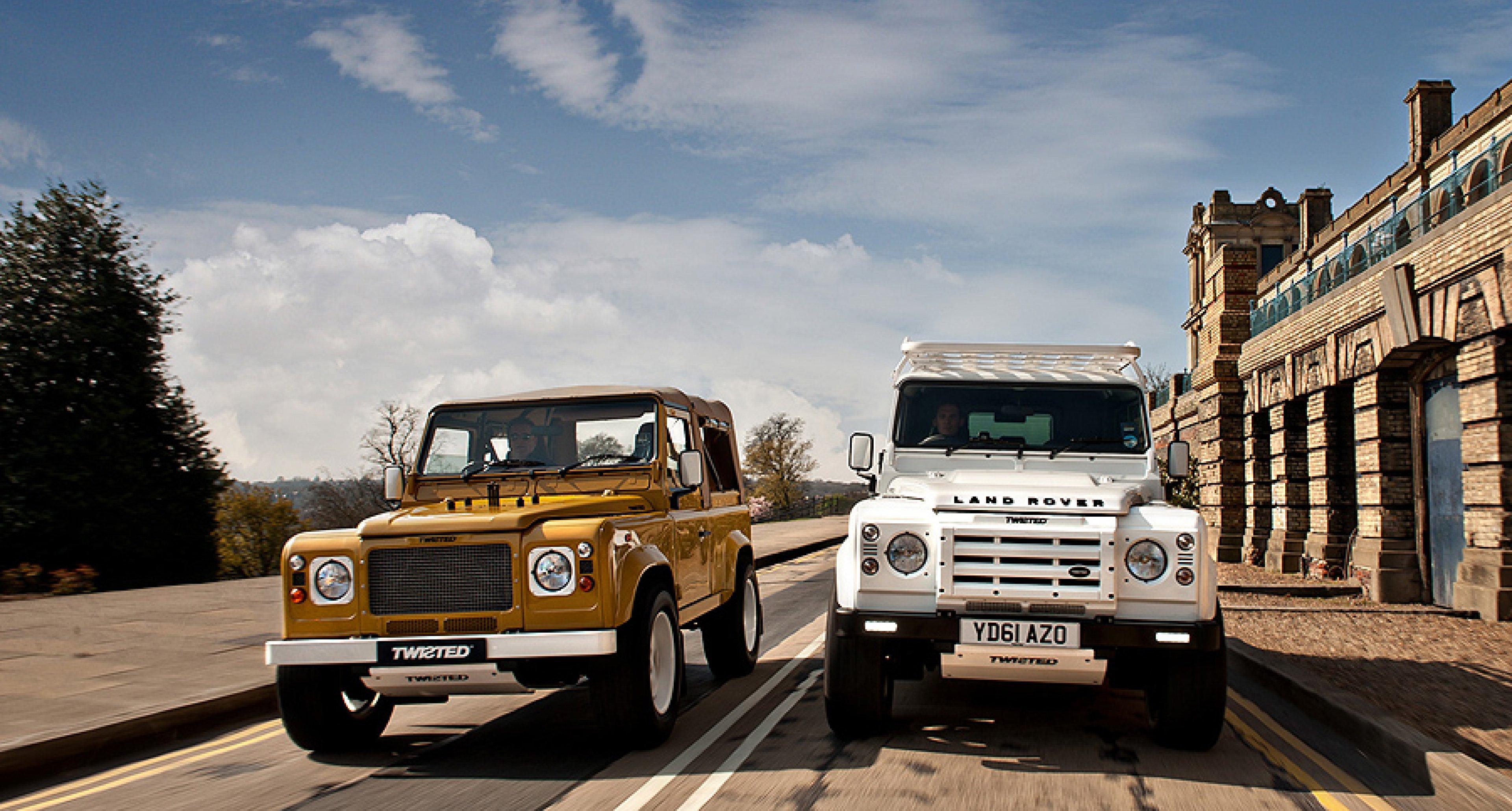 Land Rover Defender Twisted Editions: Urban Safari