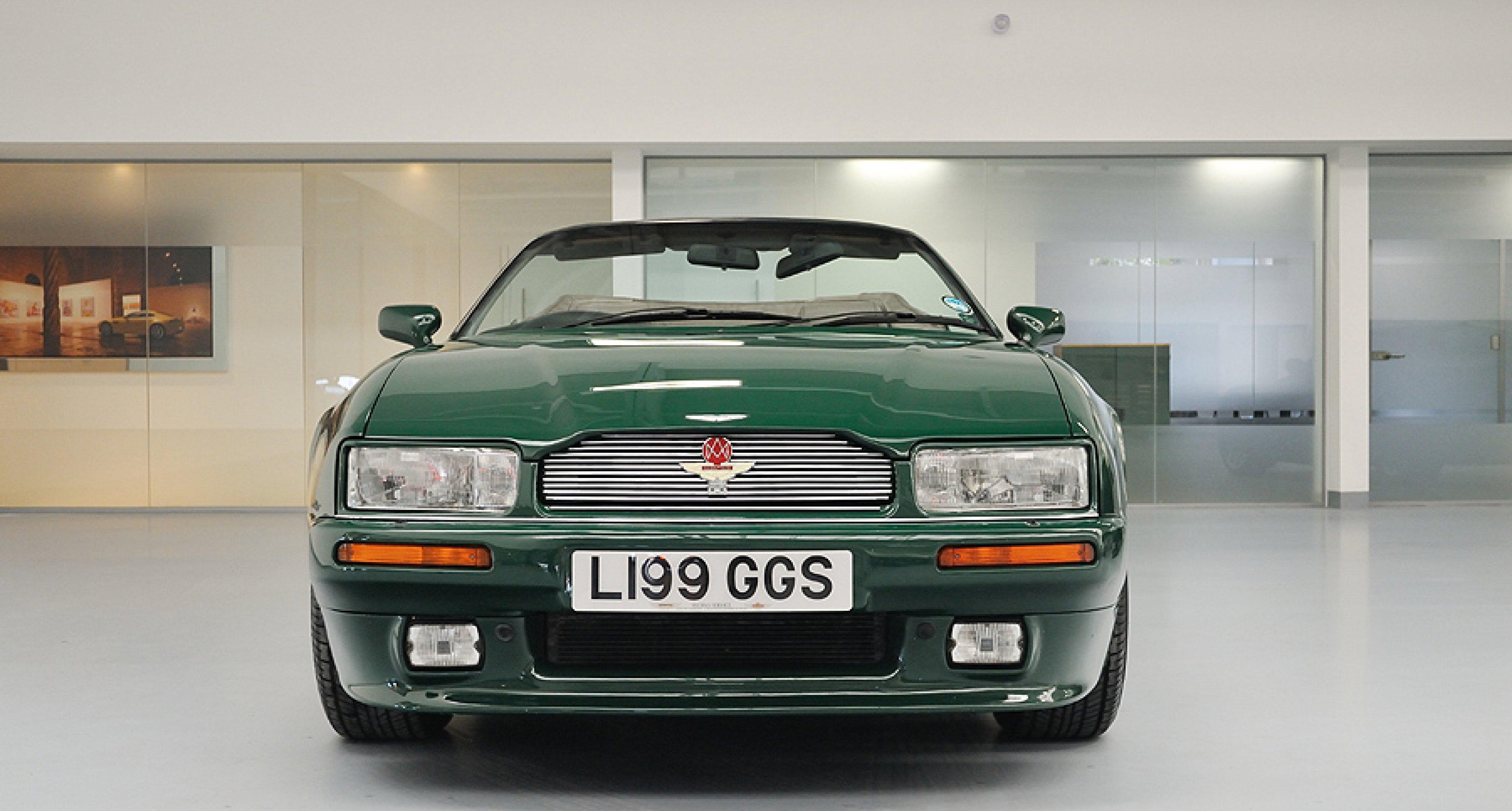 Driven Aston Martin Virage Volante Litre Classic Driver Magazine - Aston martin virage for sale