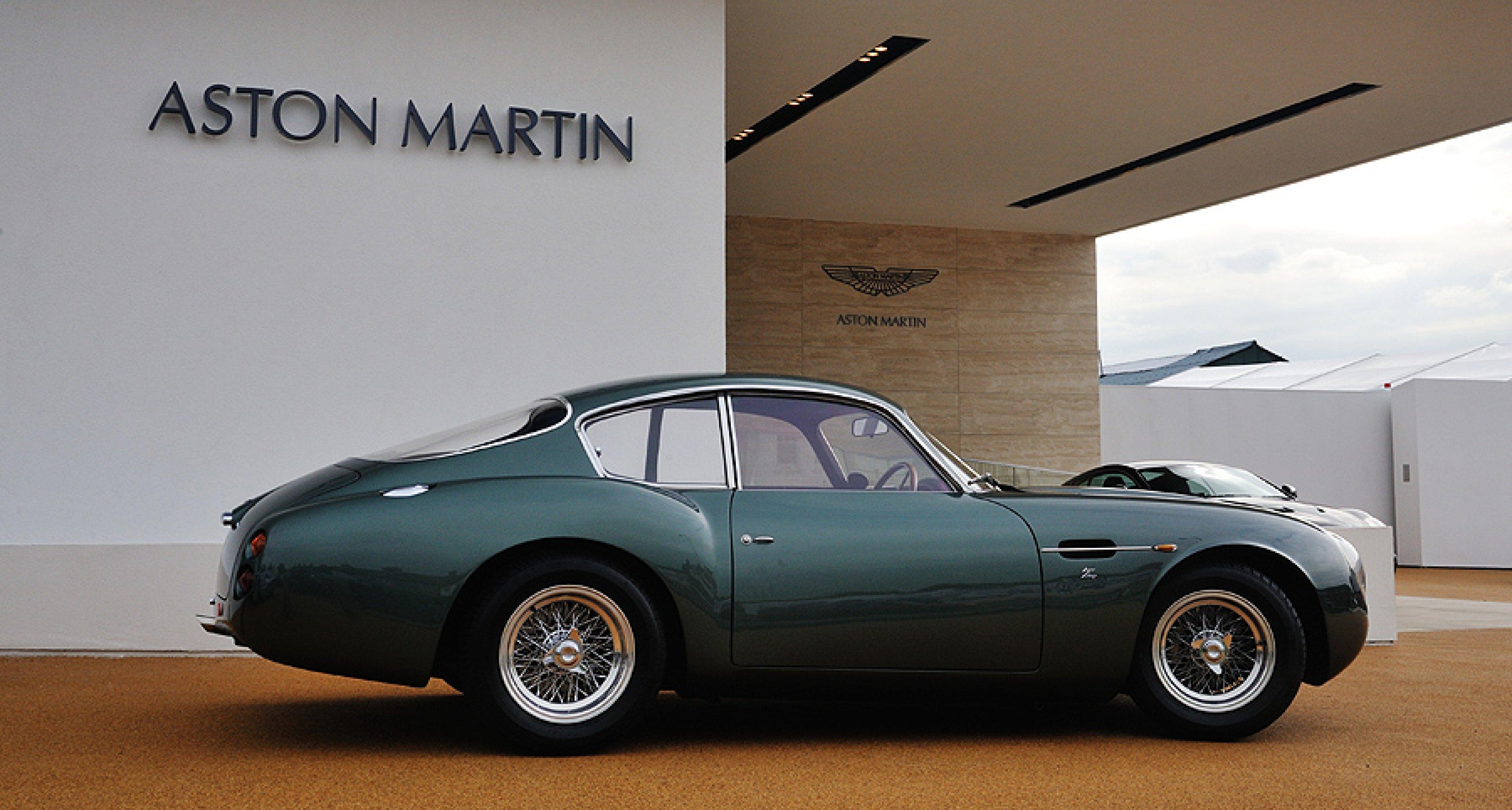 Driven Aston Martin Db4gt Zagato Sanction Ii Classic Driver Magazine