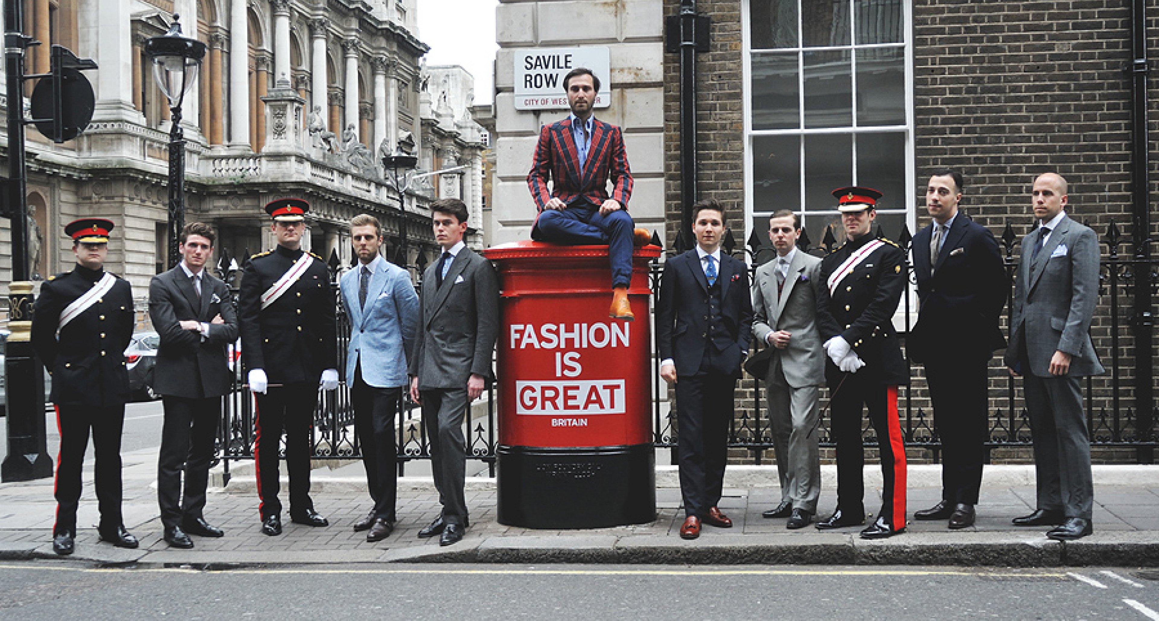 'Fashion is GREAT': Savile Row and Burlington Arcade ...