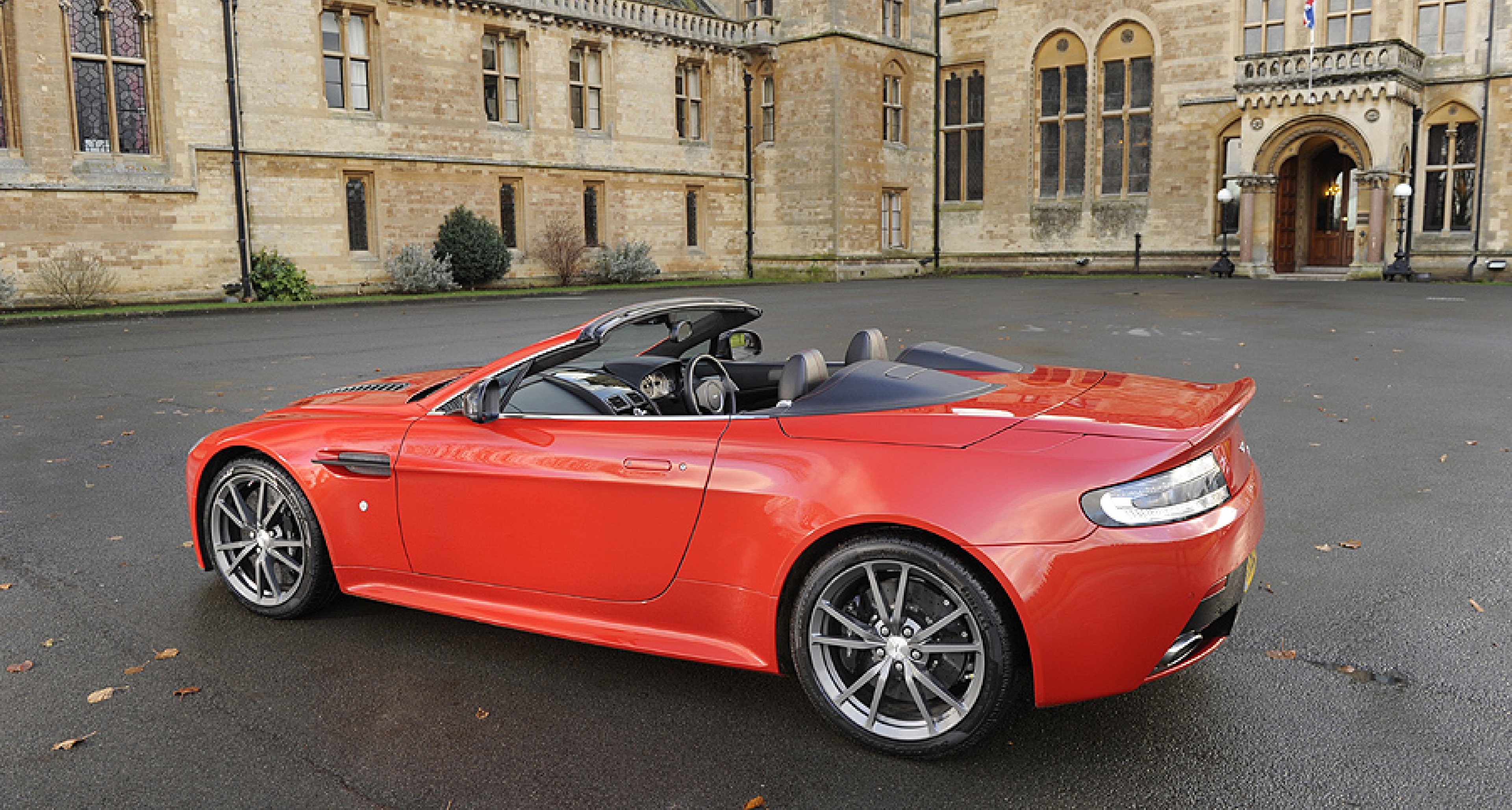 Driven Aston Martin V12 Vantage Roadster Classic Driver Magazine