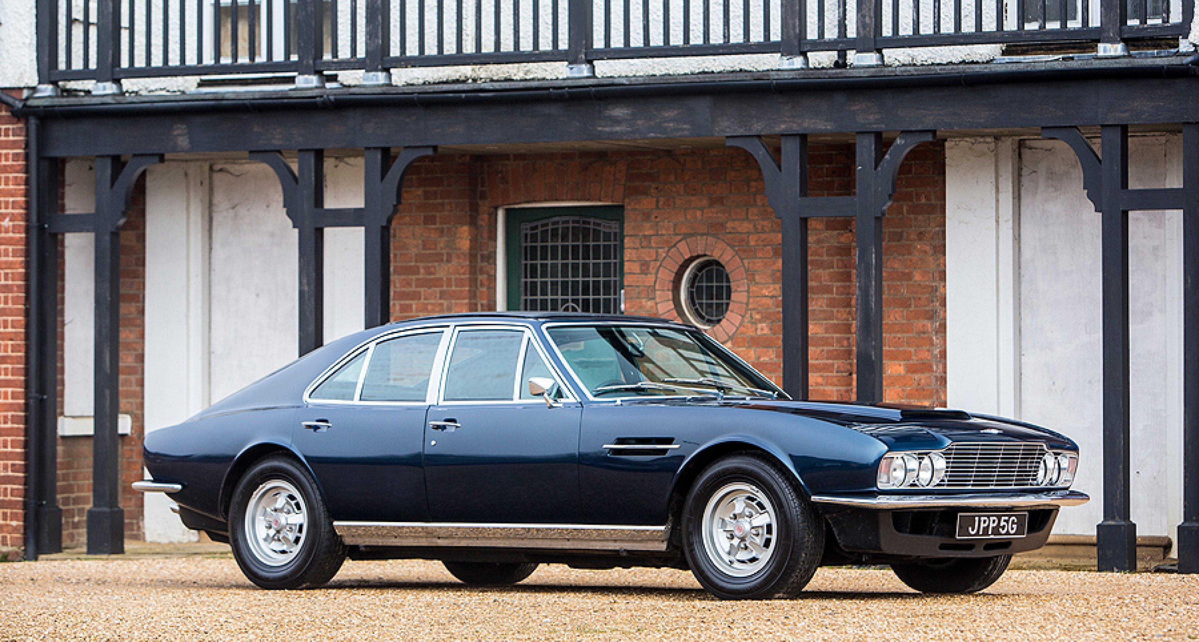 The First Of The Few Sir David S V8 Lagonda Prototype Classic Driver Magazine