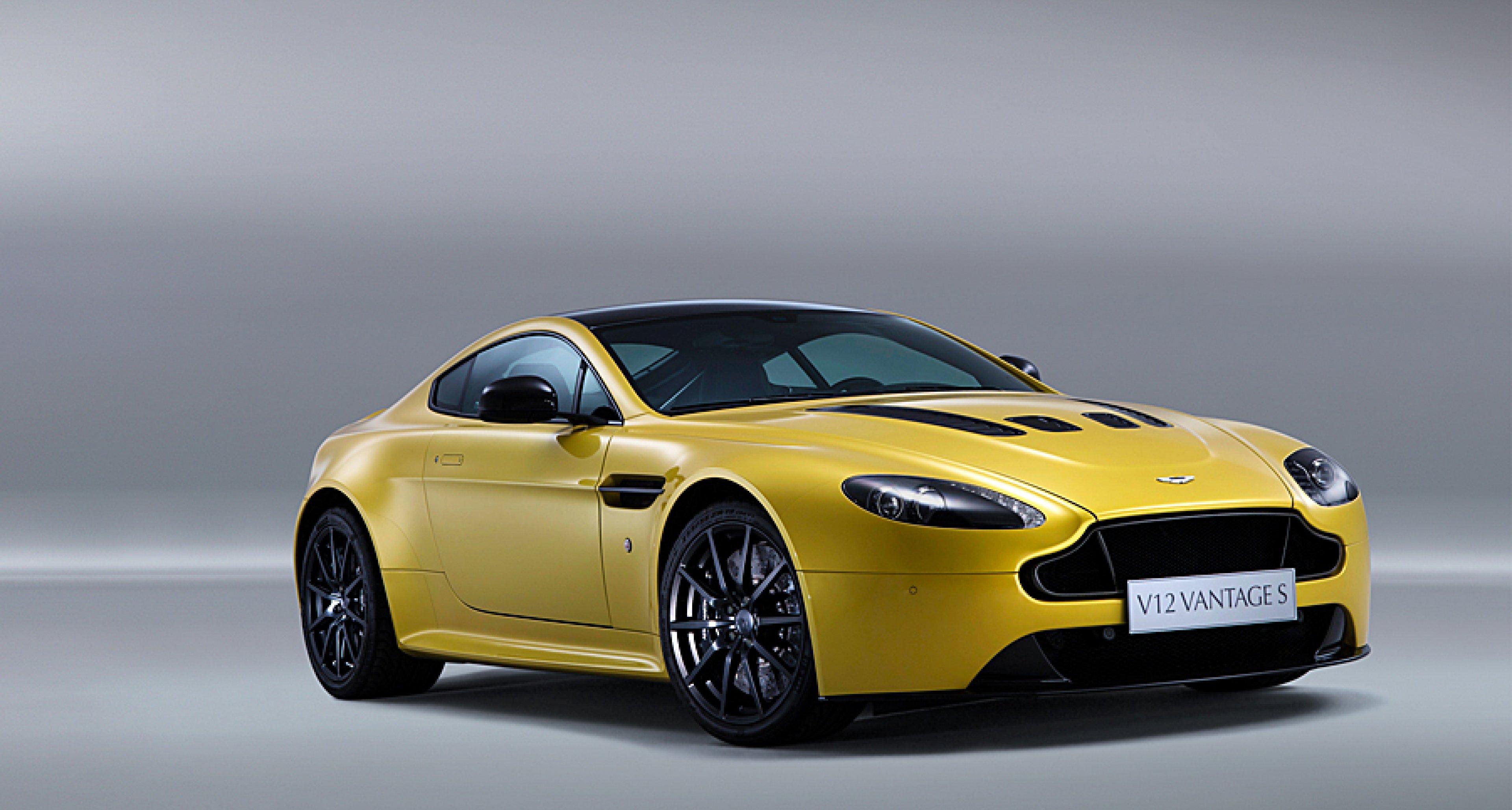 Aston Martin V12 Vantage S Schneller Ist Nur Der One 77 Classic Driver Magazine