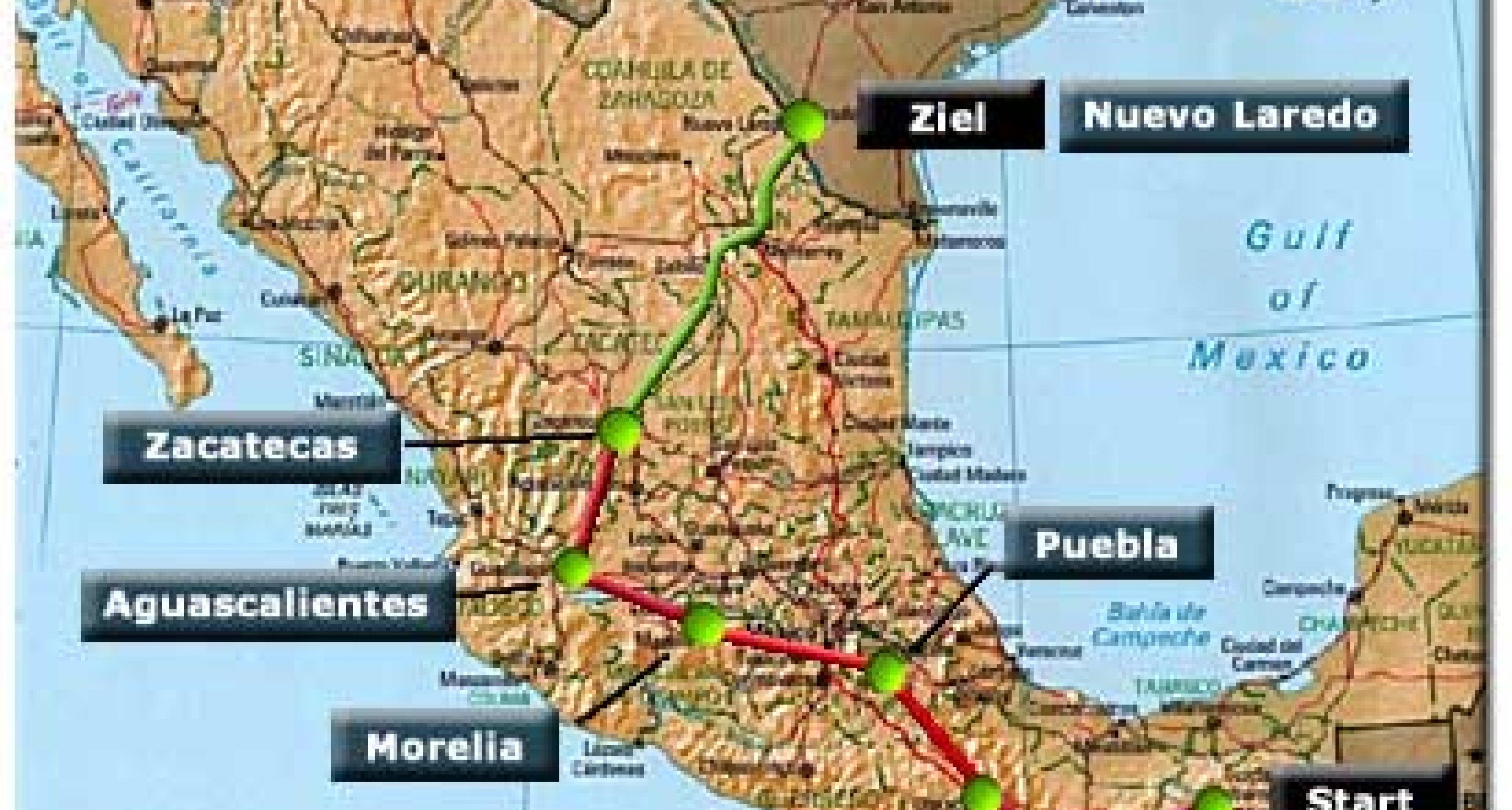 Etappe 5 - La Carrera Panamericana 2001