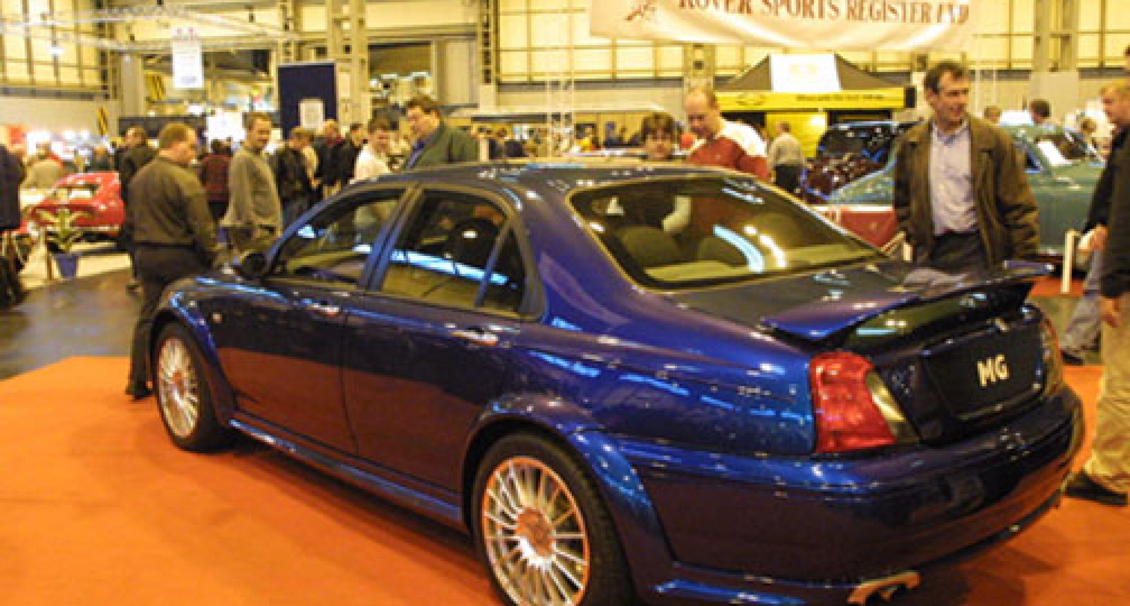 International Classic Car Show Birmingham UK 2001