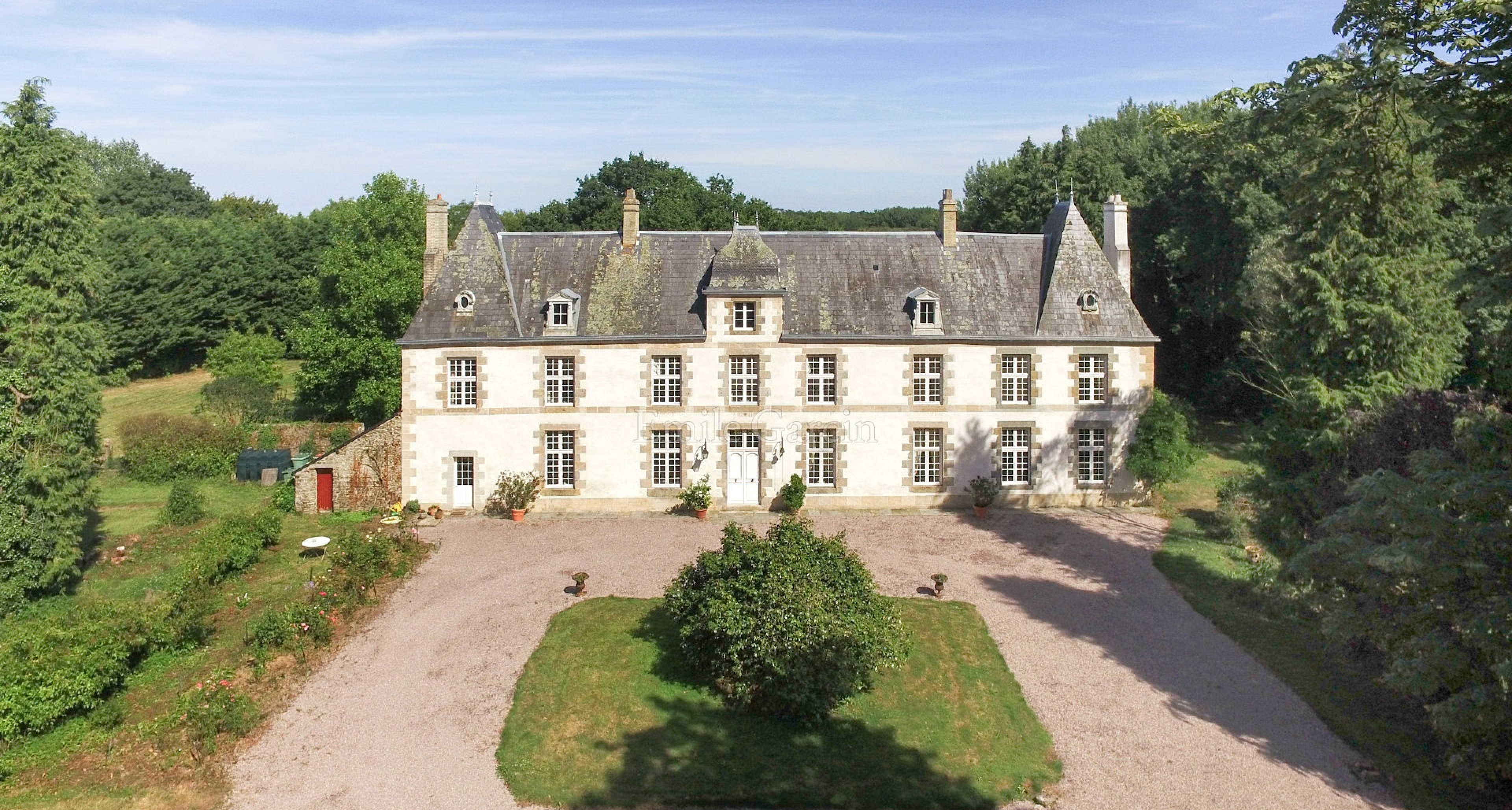 10 Minutes From SAINT MALO   Malouinière In Its Park Of 21 Hectares For Sale