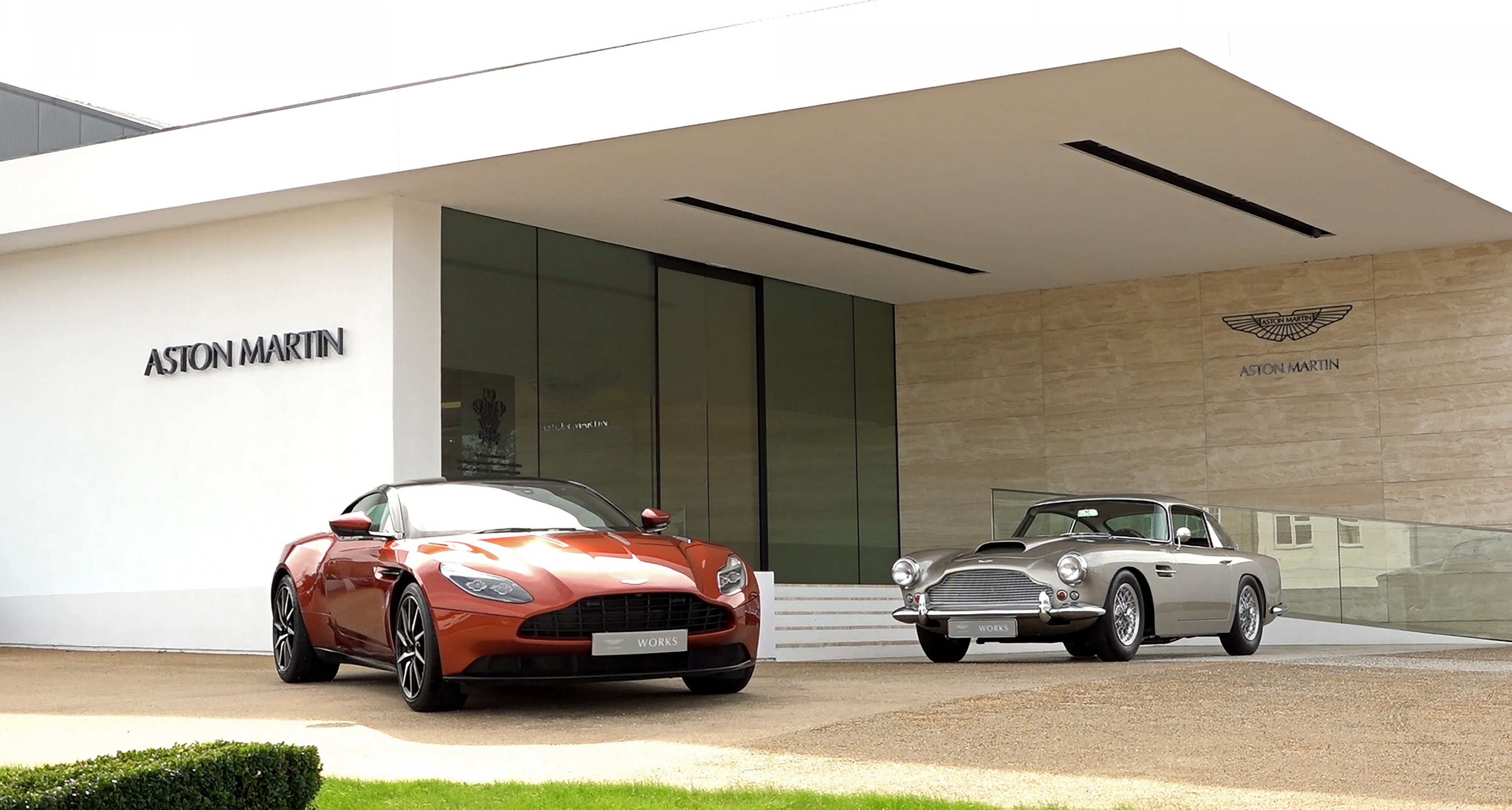 Aston Martin Works Newport Pagnell Classic Driver