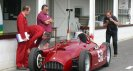 Recreation of the Lancia D50 Grand Prix Car