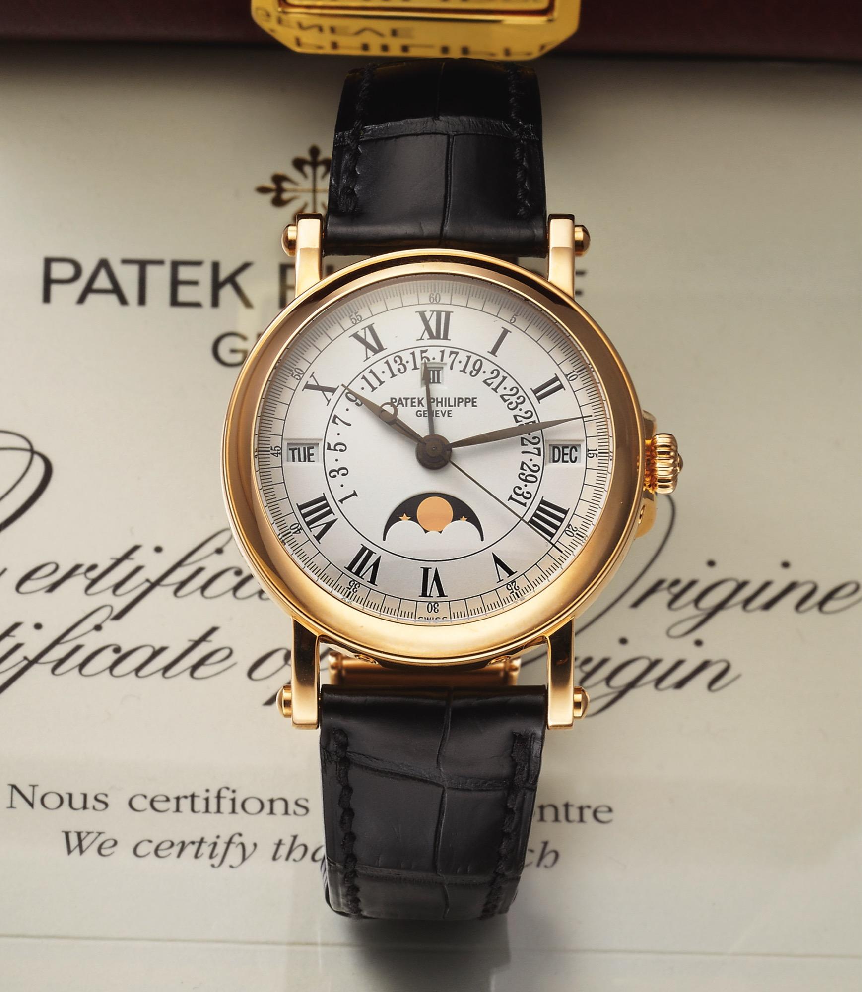 Золотые часы Patek Philippe, оригинал